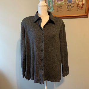 VTG Draper's and Damon's button down sweater